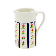 Hand-painted Ceramic Pitcher Made in Portugal