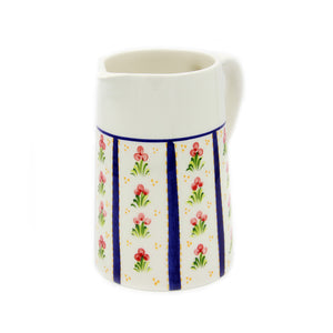 Hand-painted Traditional Portuguese Pottery Ceramic Pitcher