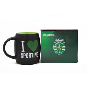 Sporting CP Coffee Mug With Gift Box Officially Licensed Product Ref SPO0939