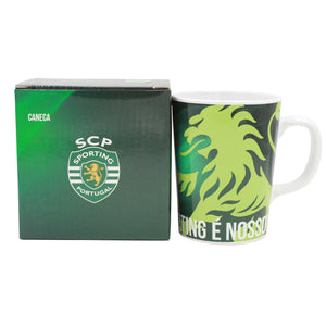 Sporting CP Coffee Mug With Gift Box Officially Licensed Product Ref SP0910