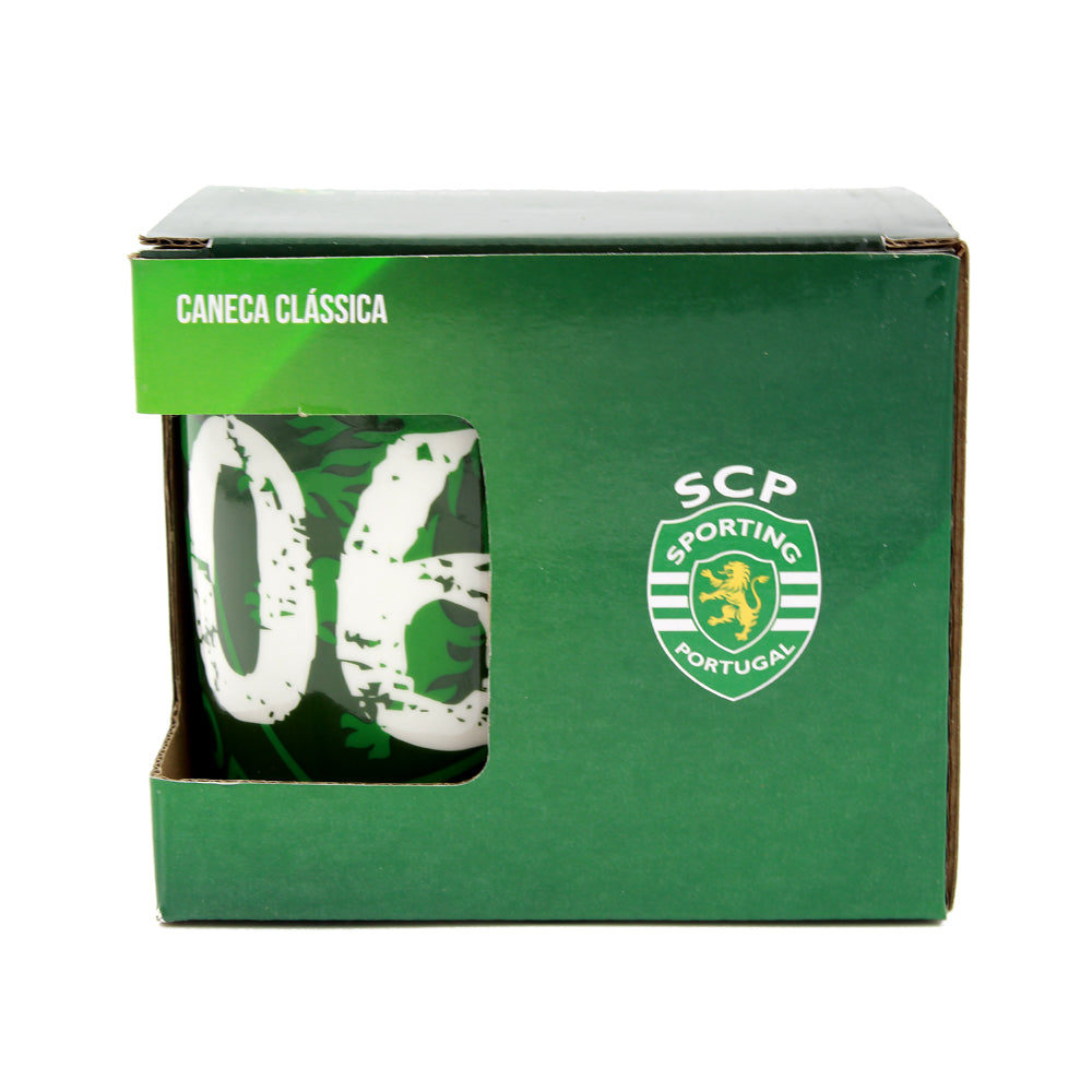 Sporting CP Coffee Mug With Gift Box Officially Licensed Product Ref SP0963