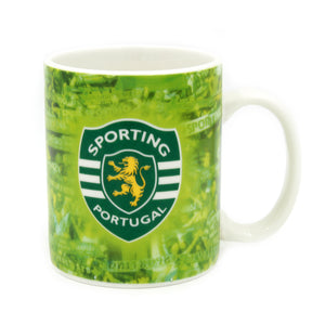Sporting CP Coffee Mug With Gift Box Officially Licensed Product Ref 335