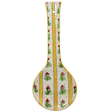 Load image into Gallery viewer, Hand Painted Traditional Portuguese Ceramic Spoon Rest Made in Portugal