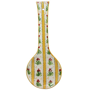 Hand Painted Traditional Portuguese Ceramic Spoon Rest Made in Portugal