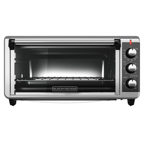 Black & Decker TO3251XSB 30 Liters Convection Toaster Oven 220 Volts Export Only