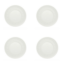 Load image into Gallery viewer, Vista Alegre Porcelain Ornament Bread & Butter Plate - Set of 4