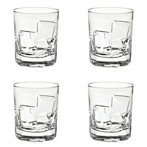 Vista Alegre Crystal Portrait Old Fashion - Set of 4