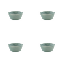 Load image into Gallery viewer, Bordallo Pinheiro Rua Nova Cereal Bowl 16 Morning Blue - Set of 4