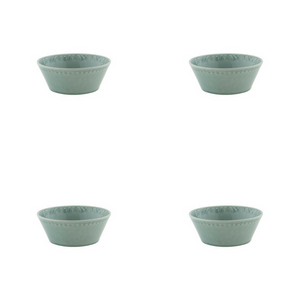Bordallo Pinheiro Rua Nova Cereal Bowl 16 Morning Blue - Set of 4