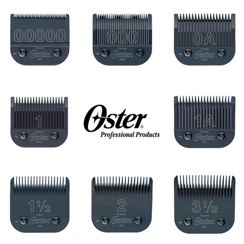 Oster Titan / Classic 76 Black Diamox Detachable Clipper Replacement Blade Hair Blades