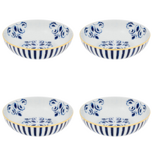 Load image into Gallery viewer, Vista Alegre Porcelain Transatlântica Cereal Bowl - Set Of 4