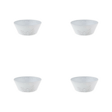 Load image into Gallery viewer, Bordallo Pinheiro Rua Nova Cereal Bowl 16 Antique White - Set of 4