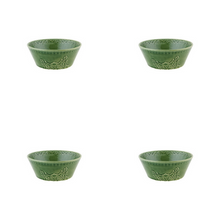 Load image into Gallery viewer, Bordallo Pinheiro Rua Nova Cereal Bowl 16 Green - Set of 4