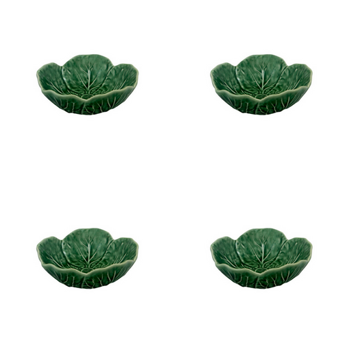 Bordallo Pinheiro Cabbage Bowl 12 - Set of 4