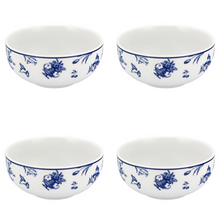 Load image into Gallery viewer, Vista Alegre Porcelain Chintz Azul Cereal Bowl - Set of 4