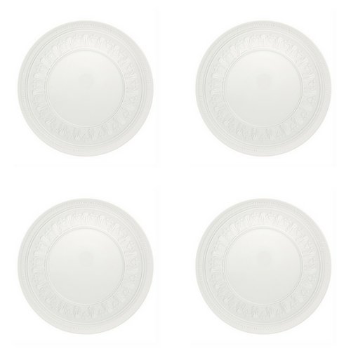 Vista Alegre Porcelain Ornament Dessert Plate - Set of 4