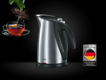 Load image into Gallery viewer, Braun WK600 The Sommelier Tea Kettle 220-240 Volts 50/60Hz Export Only
