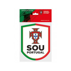 Portugal National Team Sticker FPF Official Emblem Sou Portugal