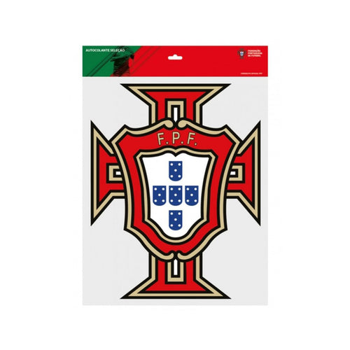 Portugal National Team Sticker FPF Official Emblem - 2 Sizes Available