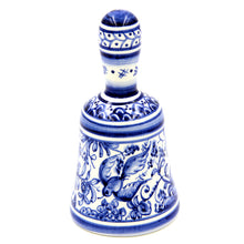 Load image into Gallery viewer, Coimbra Ceramics Hand-painted Decorative Bell XVII Century Recreation #162