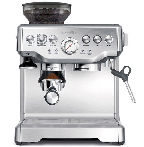 Breville BES870 Stainless Steel Barista Espresso Maker Coffee Machine With Grinder BES870XL