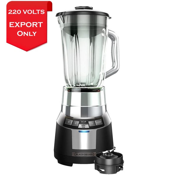 Black & Decker Bl1820Sg Fusion Blade Digital Blender 220-240 Volts 50Hz Export Only