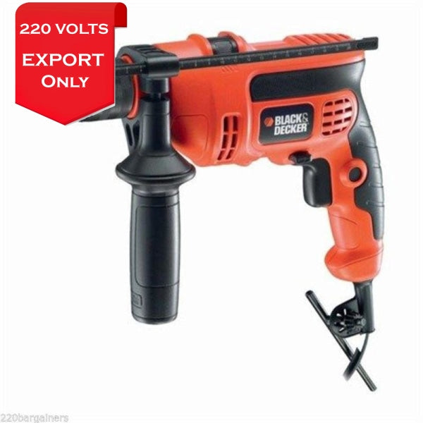 Black & Decker Cd714Rek Reversible Power Hammer Drill 220-240 Volts 50/60Hz Export Only