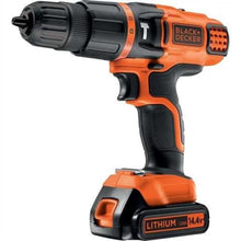 Load image into Gallery viewer, Black & Decker Egbl148Kb 14.4V Lithium 2 Gear Hammer Drill 220-240 Volts 50/60Hz Export Only
