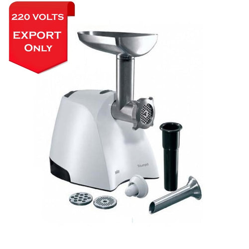 Braun G30000 Multiquick 7 Meat Grinder 220-240 Volts 50/60Hz Export Only