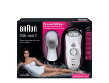 Braun Silk-épil 7569 Wet & Dry Legs, Body & Facial Cleansing Epilator 120/240 Volts