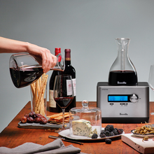 Load image into Gallery viewer, Breville BWD600SIL1BUS1 The Sommelier Decanter