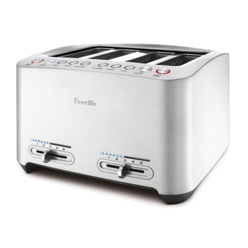 Breville BTA840XL Die-Cast 4-Slice Smart Toaster 110 Volts
