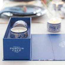 Load image into Gallery viewer, Castelbel Portus Cale Gold & Blue Fragrance Candle Set