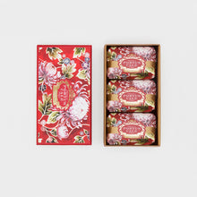 Load image into Gallery viewer, Castelbel Portus Noble Red Peony, Cedar and Rose 150g Soap - Set of 3