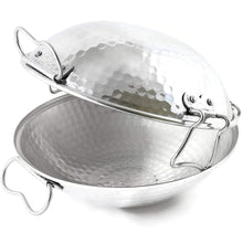 Load image into Gallery viewer, Made in Portugal Traditional Aluminum Cataplana Food Steamer Pot
