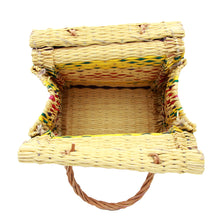 Handmade Wicker Picnic Style Handbag - 4 Sizes Available