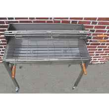 Load image into Gallery viewer, Charcoal Grill Aisi 304 Stainless Steel Handmade In Portugal 120/240 Volts Motor