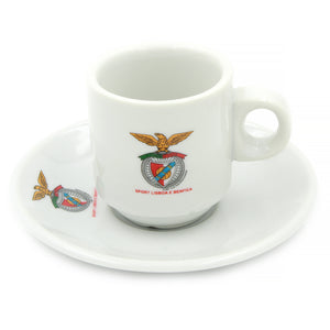 SL Benfica Set Of 6 Espresso Cup and Saucers With Gift Box #400178