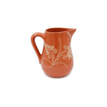 Hand-painted Traditional Portuguese Glazed Terracotta Wine Sangria Pitcher (Food Safe)