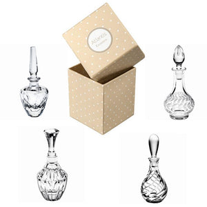 Vista Alegre Atlantis Crystal Essence Set of 4 Perfume Bottles