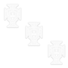 Load image into Gallery viewer, Portugal National Team Clear Sticker FPF Official Emblem - Set of 3