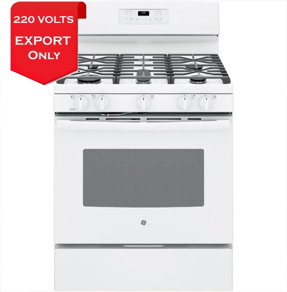 Ge Jgb660Dejww 30 Freestanding Gas Stove 220-240 Volts 50/60Hz Export Only