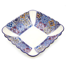Load image into Gallery viewer, Hand-painted Traditional Portuguese Ceramic Large Salad Bowl