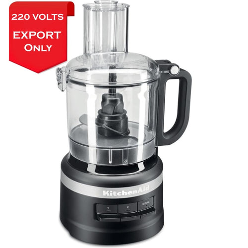 Kitchenaid 5Kfp0719Ebm 1.7 Liter Food Processor 220 Volts Export Only