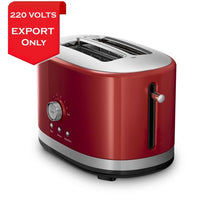 Load image into Gallery viewer, Kitchenaid 5Kmt2116Ber 2 Slice Toaster With High Lift Lever 220 Volts Export Only Hand Blender
