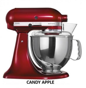 Kitchenaid Ksm150 5 Qt. 4.7 Liters Artisan Stand Mixer 220 Volts Export Only Candy Apple