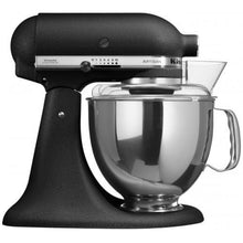 Load image into Gallery viewer, Kitchenaid Ksm150 5 Qt. 4.7 Liters Artisan Stand Mixer 220 Volts Export Only Cast Iron Black