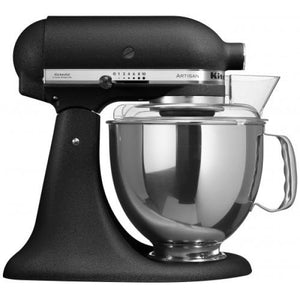 Kitchenaid Ksm150 5 Qt. 4.7 Liters Artisan Stand Mixer 220 Volts Export Only Cast Iron Black