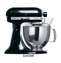 Load image into Gallery viewer, Kitchenaid Ksm150 5 Qt. 4.7 Liters Artisan Stand Mixer 220 Volts Export Only Caviar