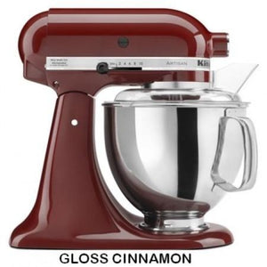 Kitchenaid Ksm150 5 Qt. 4.7 Liters Artisan Stand Mixer 220 Volts Export Only Gloss Cinnamon